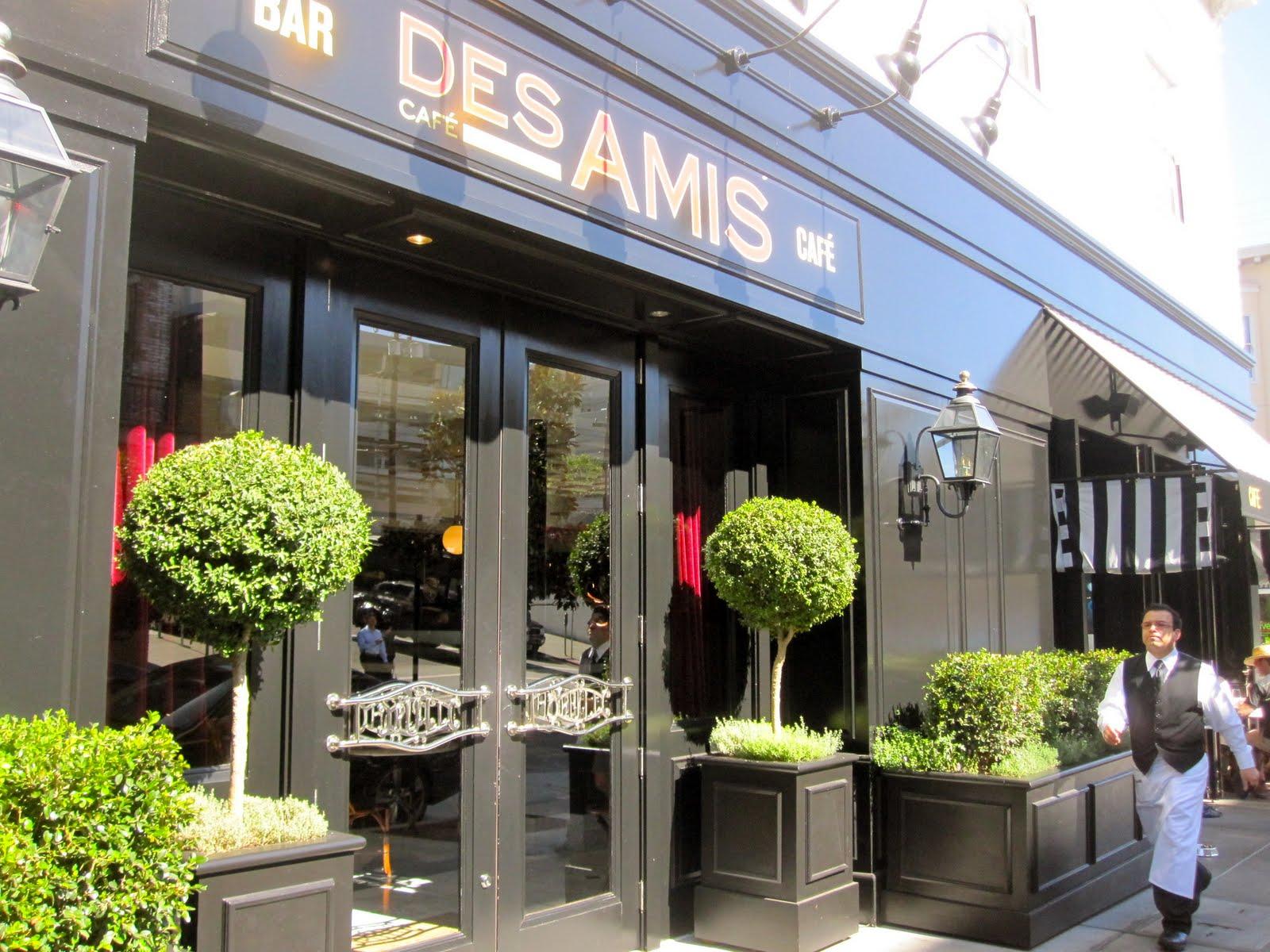 Cafe Des Amis Restaurant San Francisco