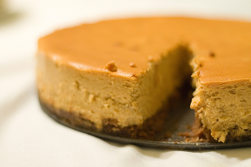 Kitchen Adventures: Roasted Sweet Potato Cheesecake