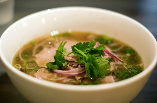pho with beef