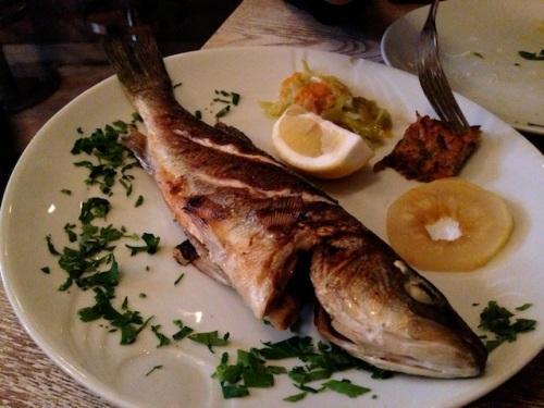 sea bass at Furreyya