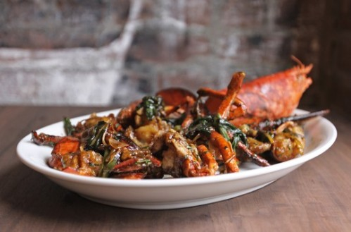 cantonese lobster - photo from Zagat.com