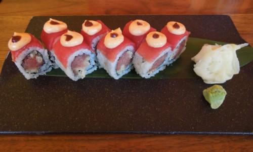 Neo Tokyo roll with big-eye tuna