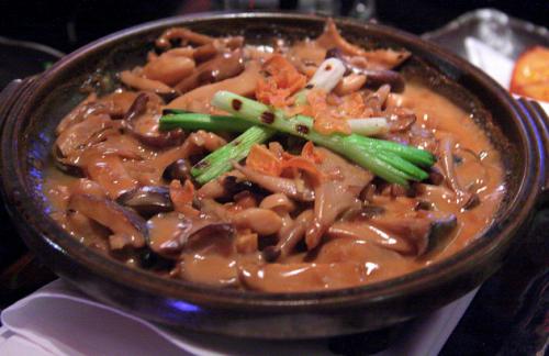 mushroom toban-yaki