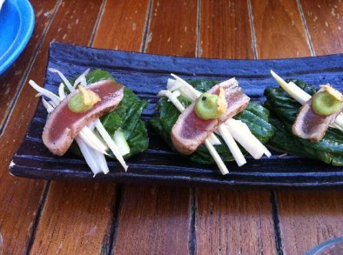 """tuna tataki """"salad"""""""