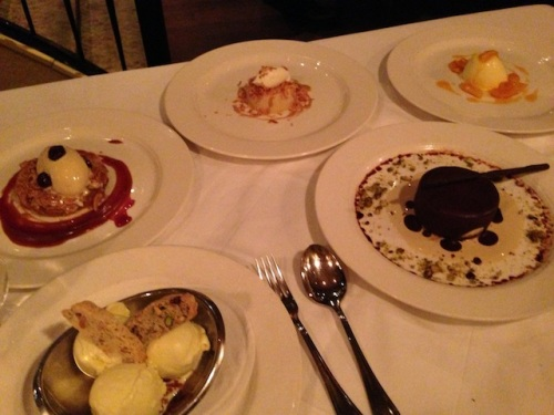 way too much dessert