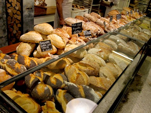 bread counter