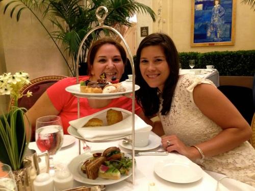 Nicole & Justyn & platter