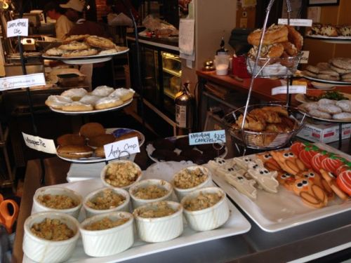 Marché Artisan Foods baked goods display