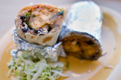 plaintain burrito
